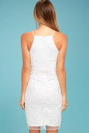In the Moment White Embroidered Dress 3