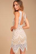 Serious Love White Lace Bodycon Dress 2