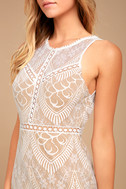 Serious Love White Lace Bodycon Dress 4