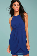 Best Wishes Royal Blue Dress 2