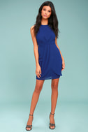 Best Wishes Royal Blue Dress 1
