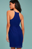 Best Wishes Royal Blue Dress 3