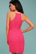Best Wishes Fuchsia Dress 3