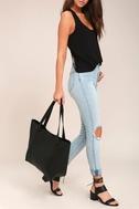 Style Script Black Tote Bag 3