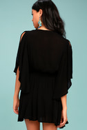 Free People Cora Black Embroidered Dress 3