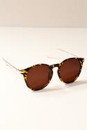 Light It Up Tortoise Sunglasses 1