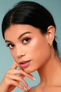 Well-Known Gold Star Earrings 1