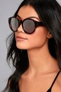 Solstice Sun Tortoise and Silver Mirrored Sunglasses 3