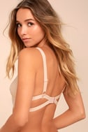 Free People Let Me Kiss You Light Pink Lace Bralette 2