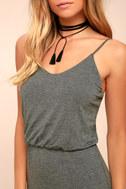 Watch the Sunset Dark Grey Maxi Dress 4