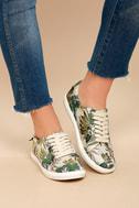 J Slides Cameron Beige Multi Sneakers 4