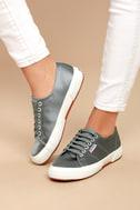 Superga 2750 Satin Grey Sneakers 4
