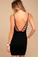 So Good Black Bodycon Dress 3