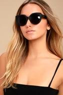 Perverse Feline Black Sunglasses 3