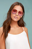 Clementine Gold and Pink Sunglasses 3