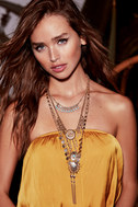 Sundial Gold Layered Necklace 3