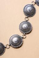 Clayton Silver Chain Belt 1