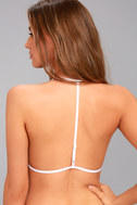 Free People Roll With It White Mesh Bralette 3