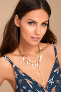 Edessa Gold Layered Necklace 1