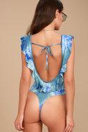 Maritime Blue Tie-Dye Bodysuit 4