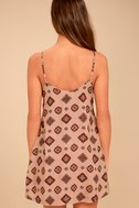 Amuse Society Baja Rusty Rose Print Dress 3