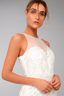 Hold On To Love White Embroidered Maxi Dress 8