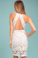 Steal a Kiss White Lace Dress 3