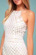 Steal a Kiss White Lace Dress 4