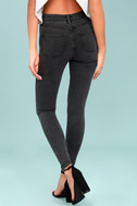 RVCA Hi Roader Washed Black Skinny Jeans 3