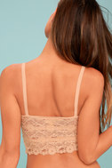 For Your Eyes Only Peach Lace Bralette 3