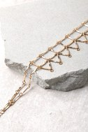 8 Other Reasons Web Gold Choker Necklace 2