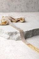8 Other Reasons Bella Gold Rhinestone Wrap Necklace 5