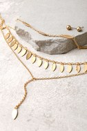 Edessa Gold Layered Necklace 2