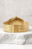 Nixon Time Teller Gold Hammered Watch 3