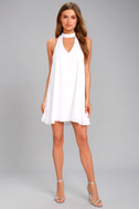 Groove Thing White Swing Dress 2