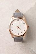 Infinity Grey Watch 1