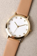 Just a Minute Beige Watch 1