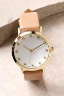 Just a Minute Beige Watch 2