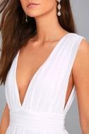 Heavenly Hues White Maxi Dress