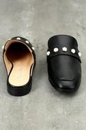 Winona Black Pearl Loafer Slides 3
