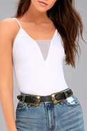 Into the West Black and Gold Double Buckle Belt 3