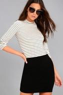 I Love It Black Mini Skirt 2