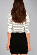 I Love It Black Mini Skirt 5