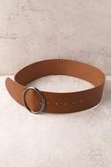 Show Time Brown Waist Belt 4