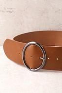 Show Time Brown Waist Belt 3
