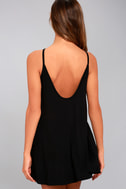 RVCA Pipe Dream Black Swing Dress 7