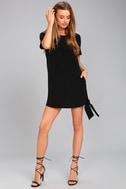 Shifty Business Black Shift Dress 2