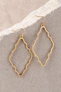 Reagan Gold Earrings 2