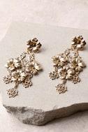 Garden Dreams Gold Earrings 2