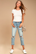 Project Social T Lainey Ivory Tee 2
